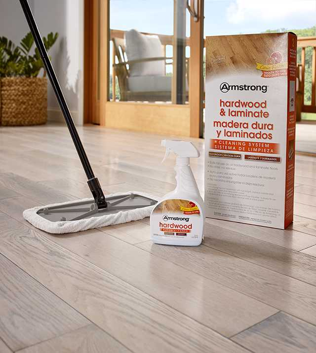 Cleaning Hardwood Floors By