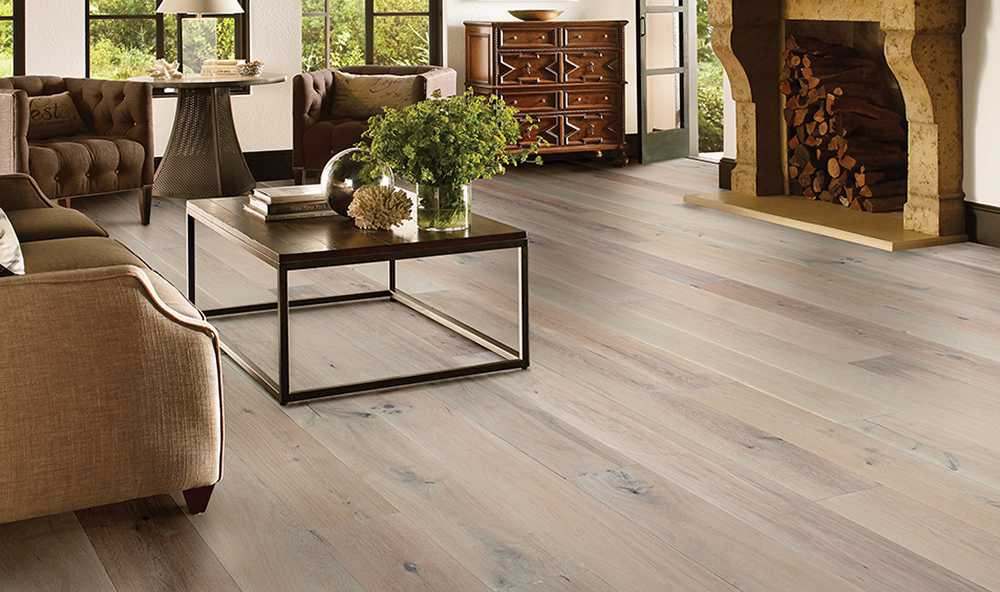 TimberBrushed Platinum Room Scene