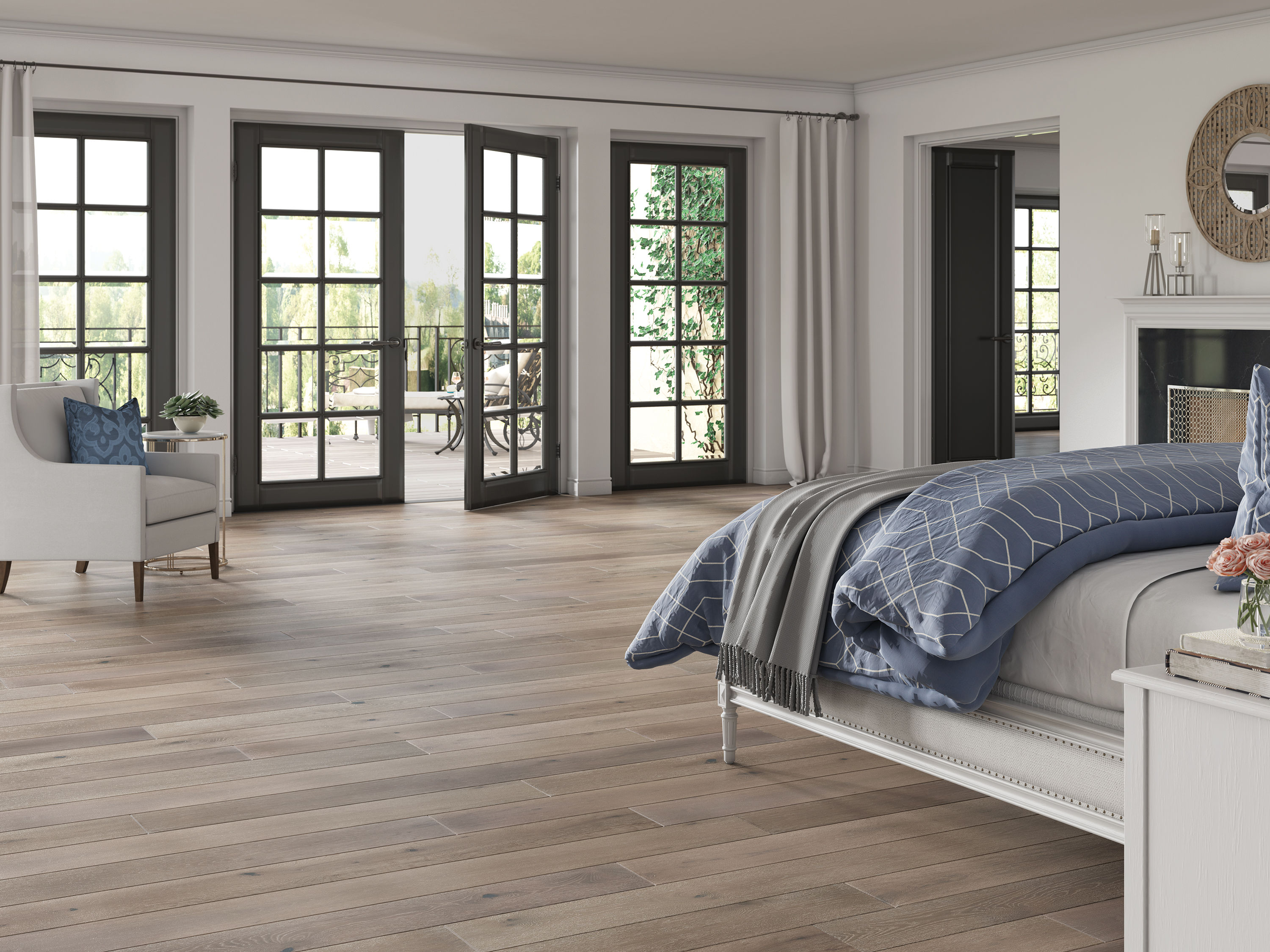 TimberBrushed Gold Breezy Point Engineered Hardwood EKLP85L05W