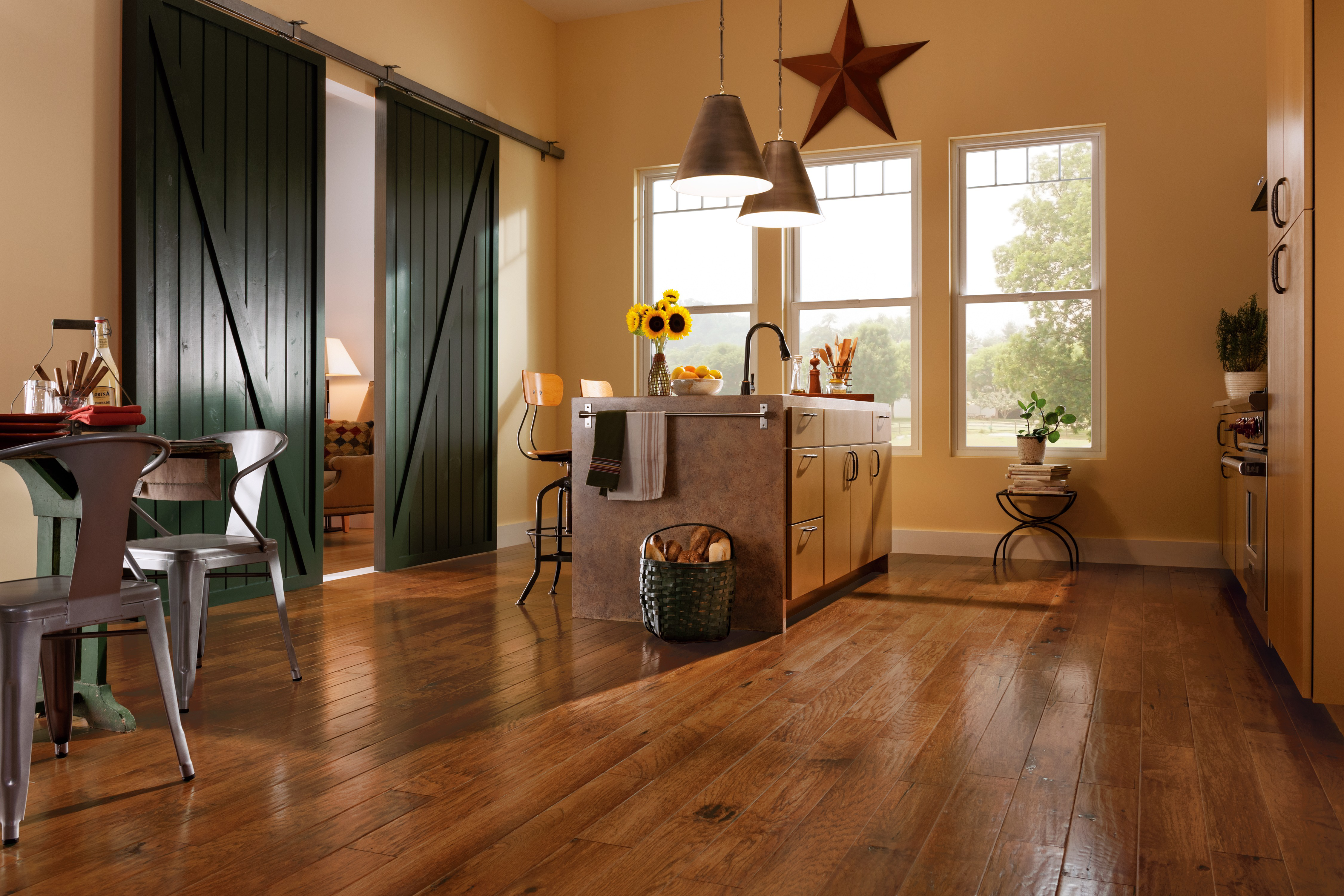 American Scrape Cajun Spice Engineered Hardwood EAS503EE